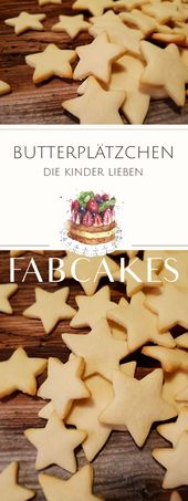 Delicate butter cookies – The basic recipe  – Fabcakes Rezepte