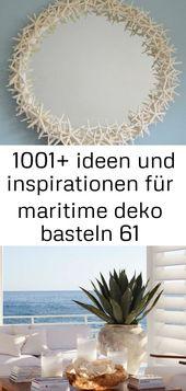 ▷ 1001+ ideen und inspirationen für maritime deko basteln 61