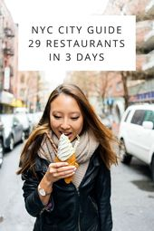 NYC Metropolis Information: 29 Eating places In three Days – A Style of Koko