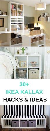 30+ Ikea Kallax Inspiration, Ideas & Hacks For Every Room