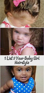 5 List 2 Years Baby Girl Hairstyle – BABY – Maya 2 Years Gorgeous Baby with Natural Curls babyGirl Hairstyles #babyhairstylesDIY #baby – #Baby …