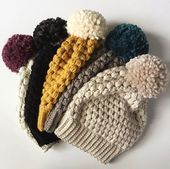 Easy and Amazing Beanie Crochet Pattern Ideas for 2019 – Things to Wear