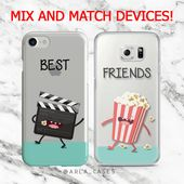Best Friend Phone Case, iPhone 7 Plus Case, Samsung Galaxy S7 Case, iPhone 6, S6 Edge, Couple Phone Case, Movie Lover, Gifts for Her, TPU