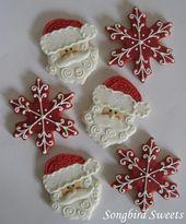 Más de 20 lindas galletas navideñas para 2018 – #Christmas #cookies #Cute #holiday   – Christmas Cookies