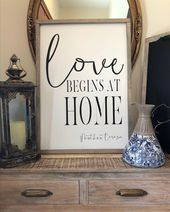 Wood sign| painted wood sign| housewarming gift | …