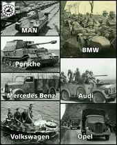 """WW2_History on Instagram: """"This picture exhibits the completely different German-made autos…"""