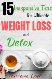 15 Preiswerte Tees für ultimativen Gewichtsverlust und Entgiftung   – Body Reset