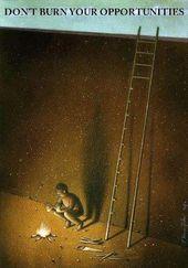 Neue, gesellschaftskritische Illustrationen von Pawel Kuczynski