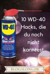 10 WD-40 hacks that you did not know 10 WD-40 hacks that you did not know # wd-40 # household # cleaning # cleaning This image has get 3 repi …