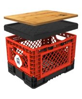 This Red Medium Smart Crate is perfect! #zulilyfinds