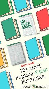 101 Most Popular Excel Formulas!