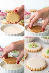 ▷ 1001 + ideas originales sobre cómo decorar galletas   – Weihnachtsessen Rezepte