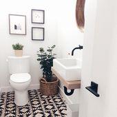 18 Beautiful Half Bathroom Ideas to Inspire You