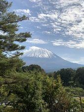 Mt Fuji view from Yurari Onsen