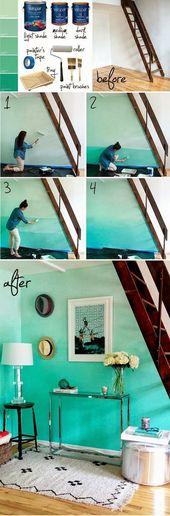 15 einfache Ideen, Wandkunst zu machen