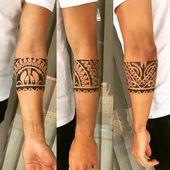 Armband Tattoo – Tolle und originelle Designs für Männer und Frauen in Bildern