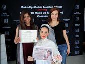 Studenten & # 39; Abschlussprüfung unserer Make-up Kurse. Schminkatelier Schule …   – Make UP
