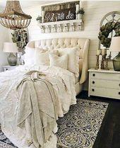 25 Fresh French County Bedroom Decor Ideas – homixover.com