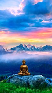 Wallpaper For Mobile Devices Yoga Meditation Artwork By