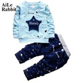 AiLe Rabbit 2018 New Autumn Baby Boy Clothing Set Star Letters Long Sleeve Top  …   – Alibaba