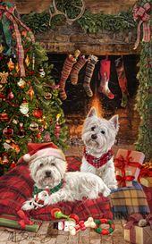 CADBURY WESTIE West Highland  White Terrier Dogs//Cats Christmas Cookie Tin