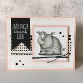 LOVE you animal LIEB? #cute #stamp #stamps #stampinup #stampinupstamps