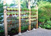 Backyard Landscaping Ideas forPrivacy Fence andScreen