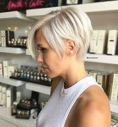 60+ neue kurze blonde Frisuren 2019