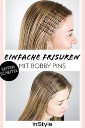 Beauty trend: 3 simple hairstyles with bobby pins that look super stylish