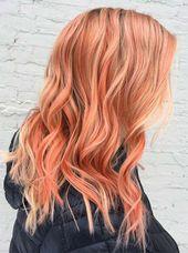 67 Pretty Peach Hair Color Ideas: How to Dye Your Hair Peach