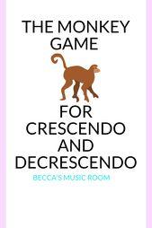 Monkey Recreation for Crescendos and Decrescendos – Becca's Music Room