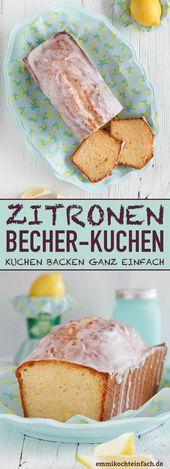Zitronenbecher | Das super einfache Rezept. Die Joghurtbecher ist dein Mes …   – emmikochteinfach – Der Food-Blog mit einfachen Rezepten, die gelingen