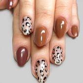 35 Nail Art Designs für den Herbst, die Sie lieben werden – Beauty: 35 Nail Art Designs für den Herbst, die Sie lieben werden …   – espanpin