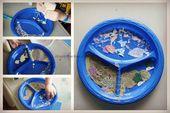 10 Vorschulaktivitäten zum Thema Ozean – Art Activities for Kids