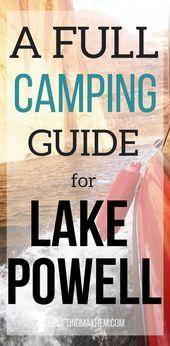 Tips and Tricks for Camping at Lake Powell – Uplifting Mayhem