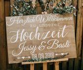 Sticker Welcome Sign Wedding