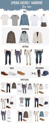 Herren Spring Capsule Garderobe 2019 mit Himteresting Plans und Nordstrom – Men's Style