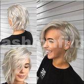 Modische Frisuren 2018-2019: Frisuren für verschiedene Stile – # bis #Frisuren #von #verschiedenen #la