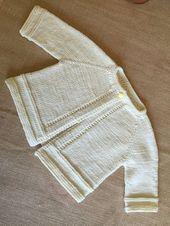Ravelry: Le pull pour bébé Lizs de MarianneJudith – Tricot – #   – Bébé