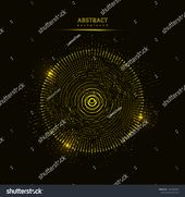 Abstract 3D big data visualization. Tangled graphics data streams. Infographics threads data. Futuristic Social network. Technological vector backgrou…