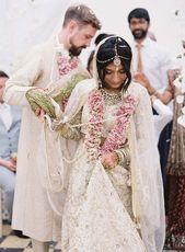 Preena and Matthew's Elegant Multi-faith Weddi…