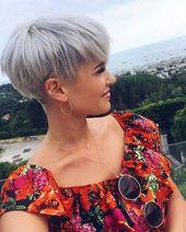 J'aime 2 321 fois, 14 commentaires – Cheveux courts (coiffures courtes) sur Ins …   – Haarschnitte