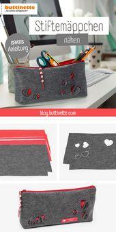 DIY: sewing a pencil case