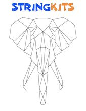 Elephant String Artwork Template