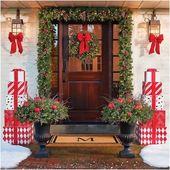 Photo of 20 Günstige und einfache DIY Outdoor Weihnachtsdekoration, um Ihre Heimdekorationen zu vervollständigen