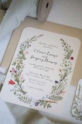 Invitations  Einladung Hochzeit