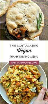 The Most Amazing Vegan Thanksgiving Menu
