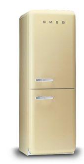Refrigerateur Smeg Allie Design Retro Et Performance Technologique Hauteur 187 5cm Largeur 80 Cm C Top Freezer Refrigerator Kitchen Appliances Refrigerator