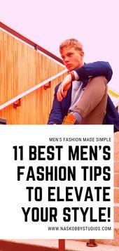 Die 11 besten Tipps für Herrenmode, um Ihren Stil zu verbessern!  – Men Suits