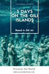 3 days on the Gili islands (based in Gili Air)